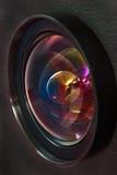 A lente dianteira do dispositivo ótico Fotografia de Stock Royalty Free