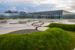 A lente do Louvre, norte de France imagem de stock royalty free