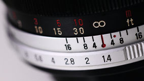Lente manuale Fotografie Stock