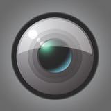 Lente objetiva del vector Fotografía de archivo