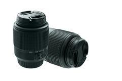 A lente para a câmera em um branco isolou o fundo Imagem de Stock Royalty Free