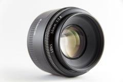 A lente para a câmera no fundo branco Imagem de Stock Royalty Free