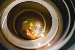 Lente para DSLR Imagem de Stock