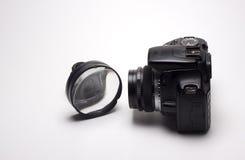 Lente para la cámara digital Fotografía de archivo