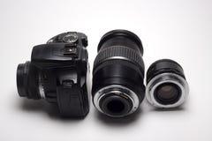 Lente para la cámara digital Fotos de archivo libres de regalías