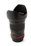 Lente per la macchina fotografica dello slr Fotografia Stock
