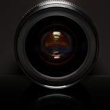 Lente profissional da foto Fotografia de Stock Royalty Free