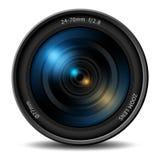 Lente zoom profissional da câmara digital ilustração royalty free
