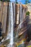 Lentedalingen bij het Nationale Park van Yosemite in Californië royalty-vrije stock afbeeldingen