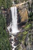 Lentedalingen van Washburn-Punt - het Nationale Park van Yosemite stock afbeelding