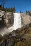 Lentedalingen Yosemite Stock Foto's