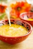 Lentejas y sopa del tamarindo Foto de archivo