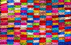 Lentejuelas coloridas. Foto de archivo