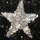 Lentejuelas de la estrella Foto de archivo