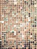 Lentejuelas de oro - textura con lentejuelas chispeante Imagenes de archivo