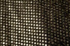 Lentejuelas de plata Fotos de archivo