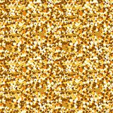 lentejuelas inconsútiles del oro stock de ilustración