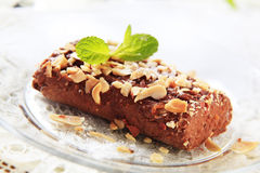 Lenten Almond Cake Stock Photos