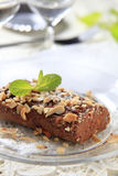 Lenten Almond Cake. Kwarezimal - Maltese lenten cookies sprinkled with chopped nuts Stock Images