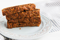 Lenten carrot cake Stock Images