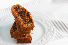 Lenten carrot cake Stock Photo