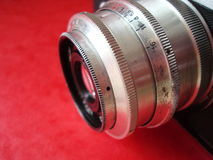 Lentes de cámara Imágenes de archivo libres de regalías