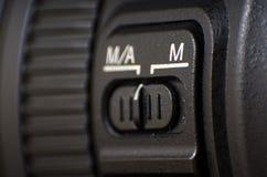 Lentes de cámara de la foto Foto de archivo libre de regalías