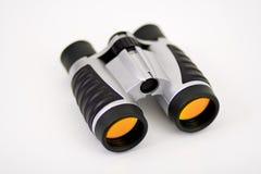Lentes dos binóculos w/Orange Fotos de Stock