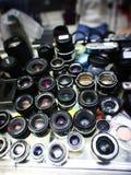 Lenti di macchine fotografiche Immagini Stock Libere da Diritti