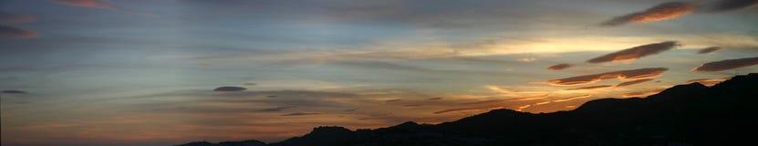 Lenticular Clouds Stock Photos
