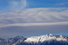 Lenticular Clouds Royalty Free Stock Photography