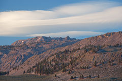 Lenticular Clouds, White Mountains Royalty Free Stock Photo