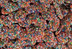 Lentiggini del cioccolato Fotografia Stock