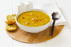 Lentil Bacon Soup Royalty Free Stock Image