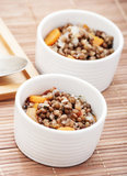 Lentil in bowl Royalty Free Stock Photos