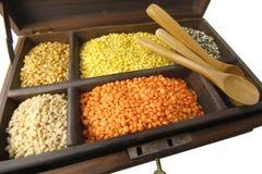 Lentil Box Royalty Free Stock Image