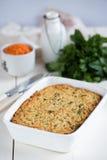 Lentil casserole Royalty Free Stock Image