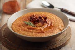 Lentil cream soup Stock Images