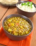 Lentil Curry Royalty Free Stock Photography