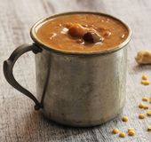 Lentil Kheer / Pradaman - Lentil dessert prepared during South Indian festivals Royalty Free Stock Photography