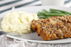 Lentil Loaf Dinner Stock Images