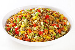 Lentil Salad Stock Photos