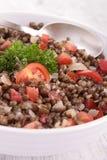 Lentil salad Stock Image