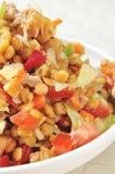 Lentil salad Stock Photo