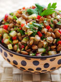 Lentil salad Royalty Free Stock Photo