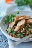 Lentil Salad Stock Photography