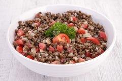 Lentil salad Royalty Free Stock Image