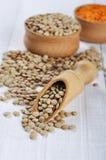 Lentil seeds Stock Image