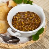 Lentil soup Stock Photo
