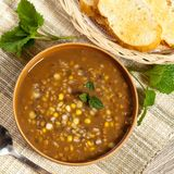 Lentil soup Stock Image